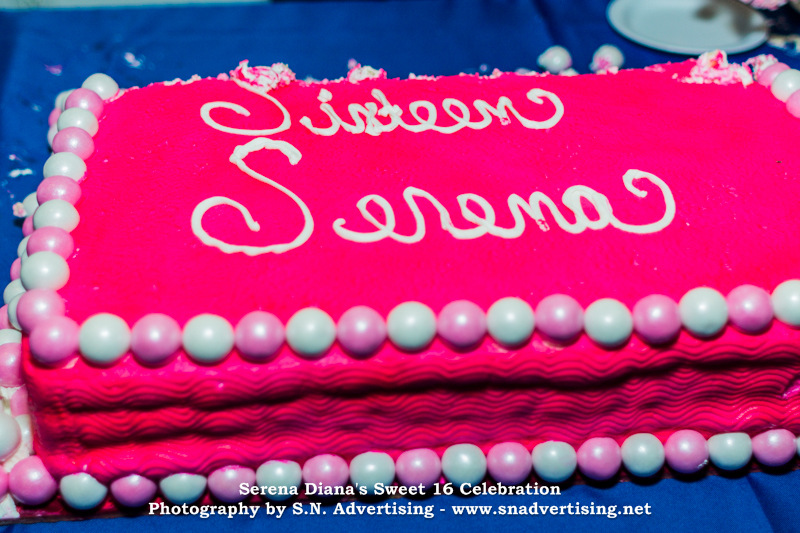 SN Advertising - Sweet 16 Birthday Party