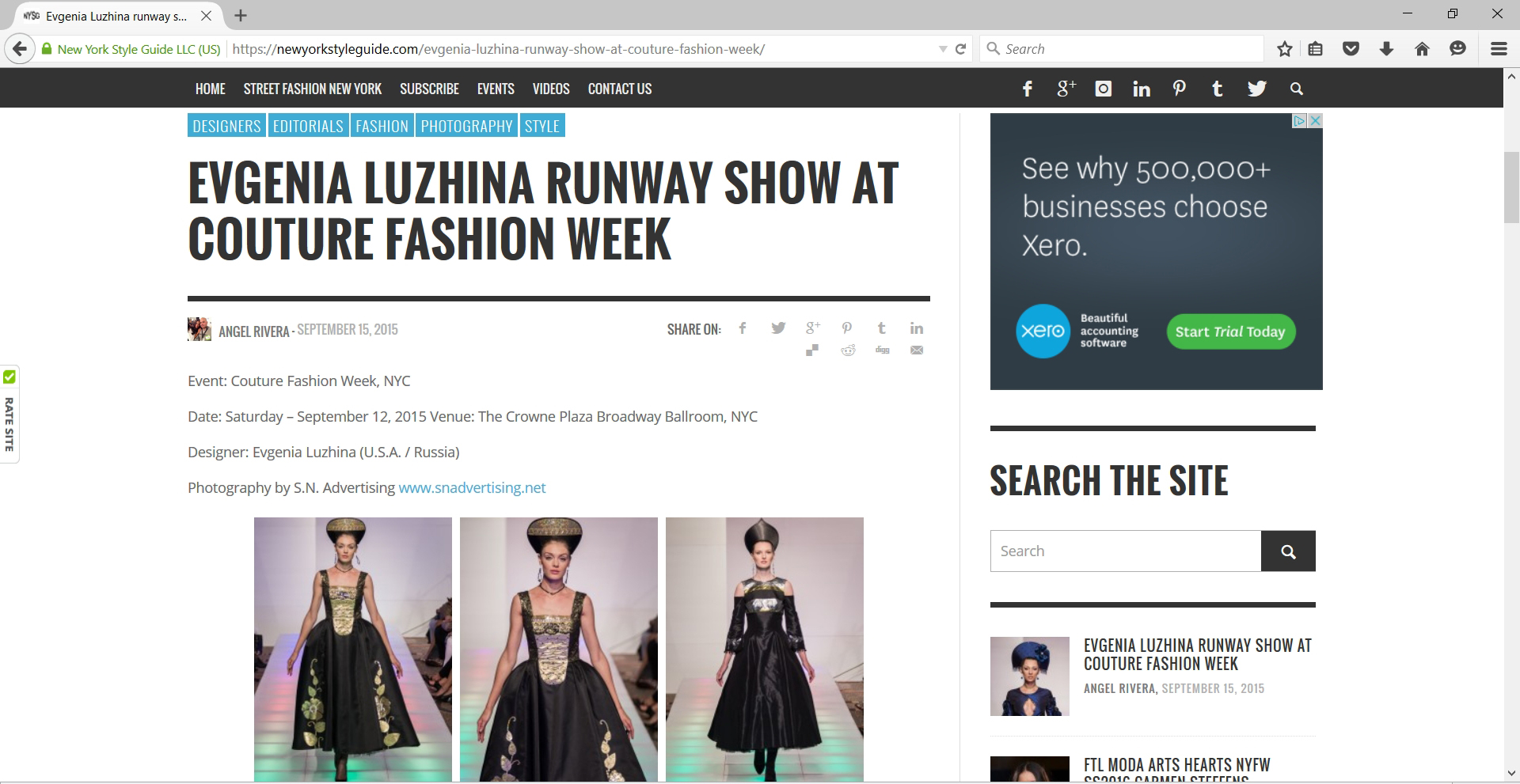 Runway_Fashion - SN Advertising