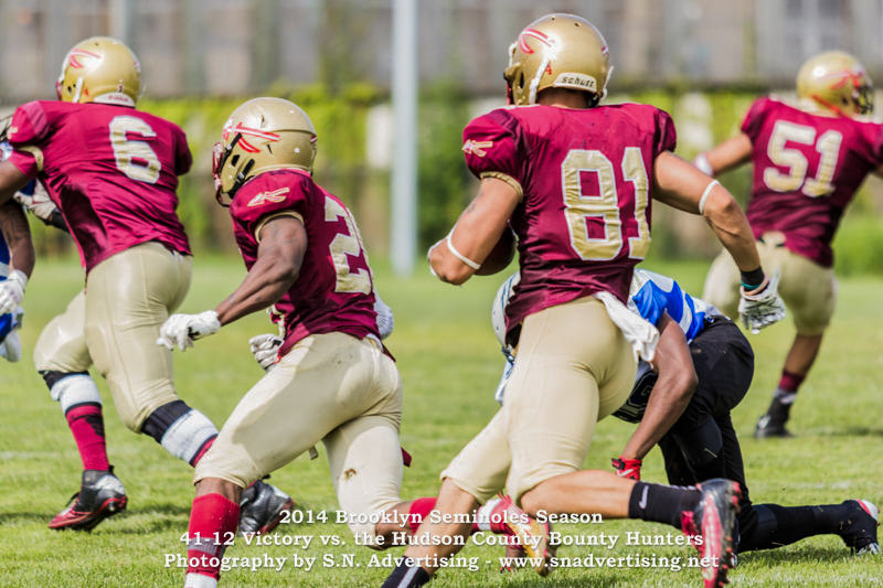 SN Advertising - Sports Photography Brooklyn Seminoles